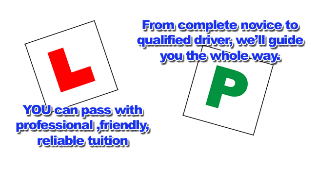 Driving lessons with Richard Lumb Driving School